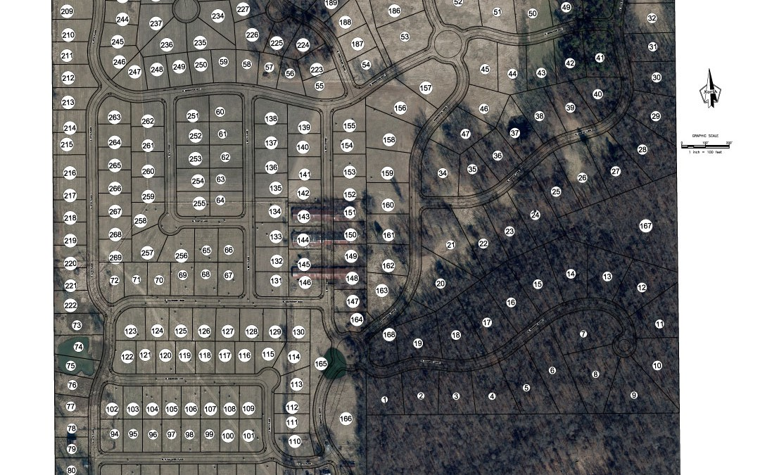 Aerial Lot Map