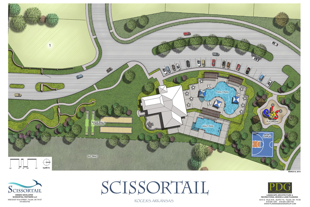 Amenities Master Site Map