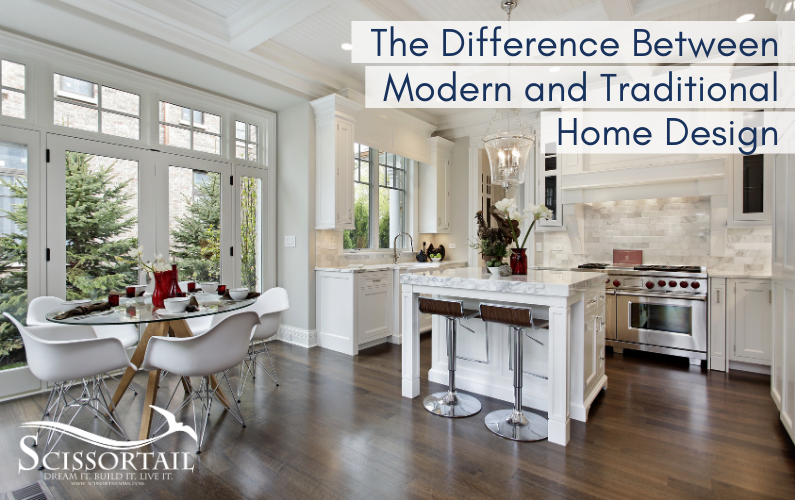 The Difference Between Modern and Traditional Home Design