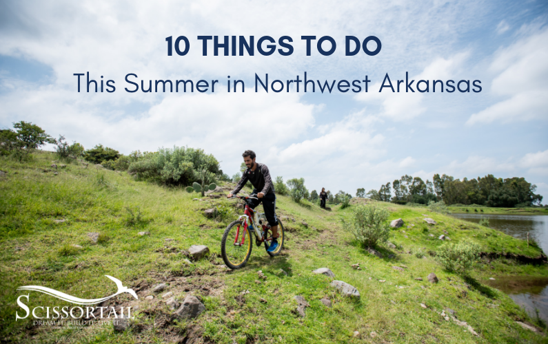 Summer, Northwest Arkansas, things to do, events, tourism, Scissortail