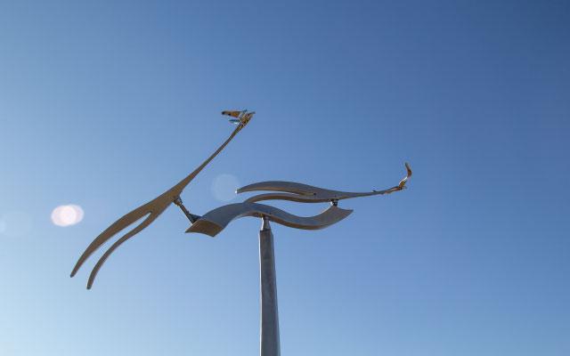 sculptures in bentonville, ar