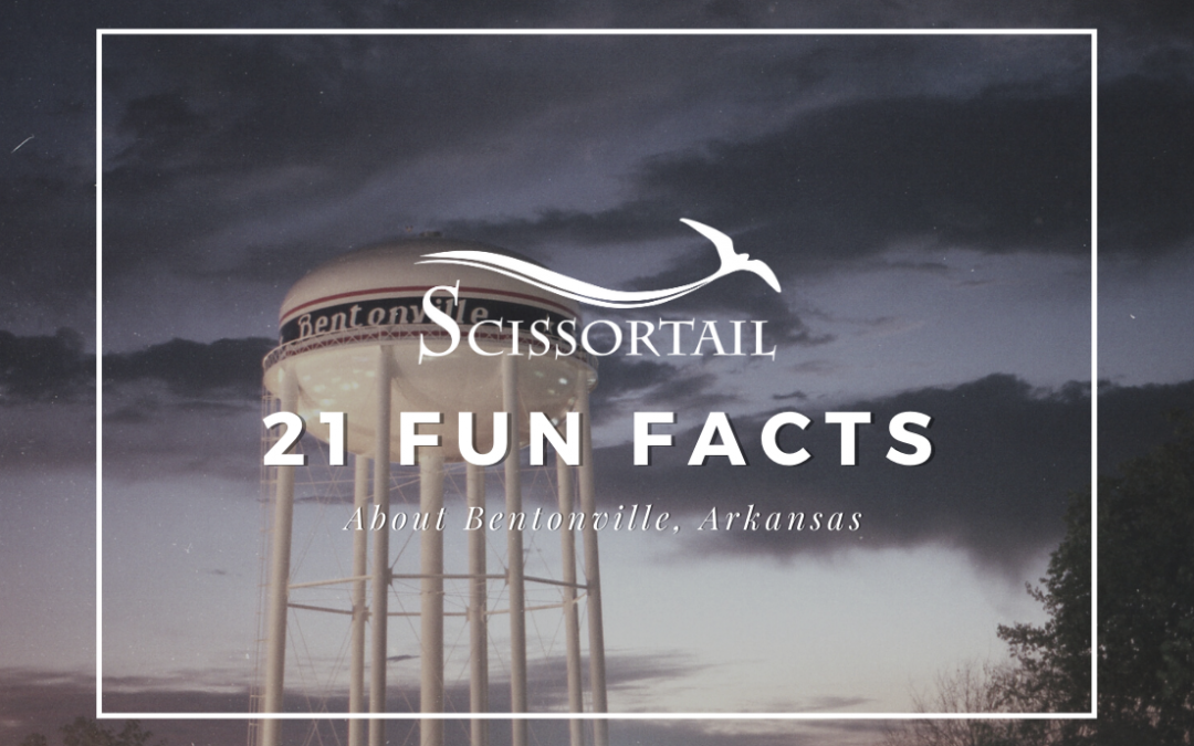 fun facts, bentonville, arkansas, things to do, attractions, tourism, new homes, gated community, new homes for sale