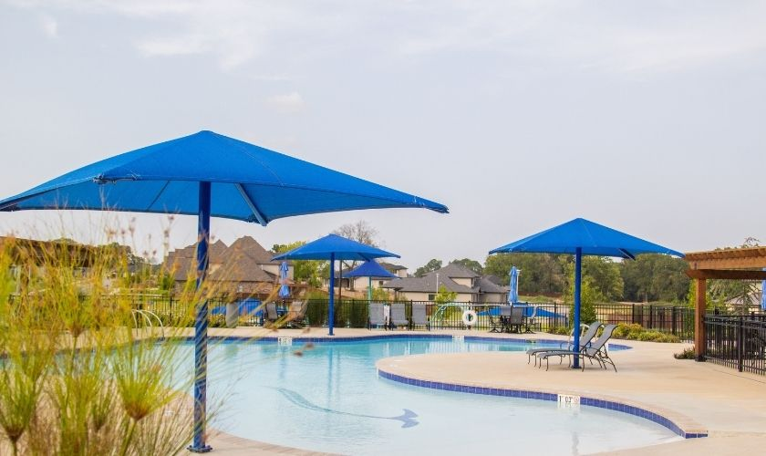 Gated communities with pools