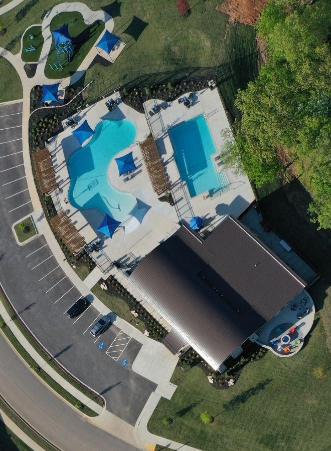 neighborhoods with community pools