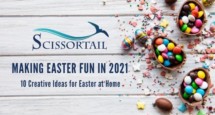 easter, fun, family, ideas, fun traditions, peeps house, easter egg hunt, northwest arkansas, new homes, new construction, luxury, gated community